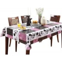 [wine & Tango] Waterproof Tablecloths/table Cloths/table Cover (152*203cm)