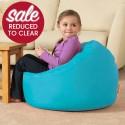 Large Classic Kids Bean Bag Brights Aqua
