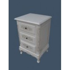 Handcarved French Style 3 Drawer Chest