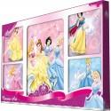 Disney Princess Set Of 5 Canvases