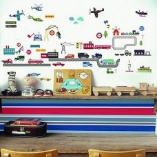 Transport Vehicle Stickers