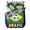 Brazil Football Single Duvet