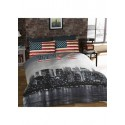 New York Photographic Print King Size Bedding