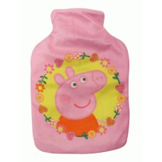 Peppa Pig Hot Water Bottle And Cover