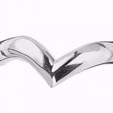 3mm Shaped Wedding Ring