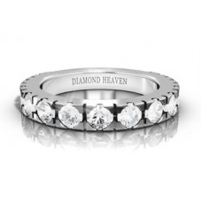 Round Prong Set Diamond Eternity Ring