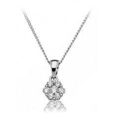 0.25ct Vs/ef Round Diamond Designer Pendant
