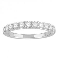 0.55ct Vs/ef Round Diamond Eternity Ring