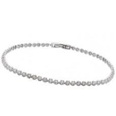 Classic Single Row Diamond Tennis Bracelet