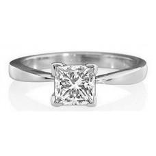 0.47ct Vs1/g Princess Diamond Ring