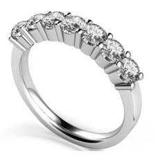 0.70ct Si/fg Round Diamond Eternity Ring