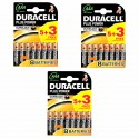 Duracell Power Plus 3 X 5 Pack Plus 3 Free - Aaa Batteries - Alkaline Battery