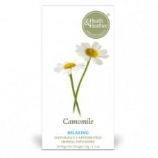 Heath & Heather - Camomile Herbal Tea 20 Bag