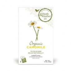 Heath & Heather - Organic Camomile Tea 20bag