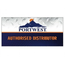 Portwest Workwear Large Pvc Banner