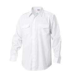 Texas Bull Men's Long Sleeve Pilot Shirt
