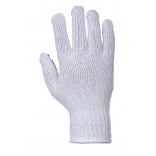 Portwest Workwear Fortis Polka Dot Glove  In White