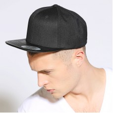 Yupoong Flexfit Adult's Leather Snapback Cap