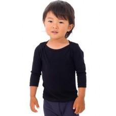 American Apparel Infant/babies Rib Long Sleeve Lap T-shirt
