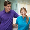 Henbury Men's Classic Stand Up Collar Polo Shirt