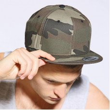 Yupoong Flexfit Adult's Camouflage Snapback Cap