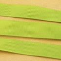 16mm Grosgrain Ribbon. 91 Metre Value Reel. Apple Green