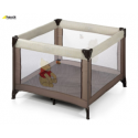 Hauck Dream & Play Square Travel Cot - Doodle Brown