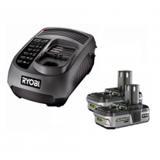 Ryobi One Plus Series Charger & 2 X Lithium-ion Batteries