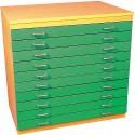 10 Drawer A1 Plan Storage Chest