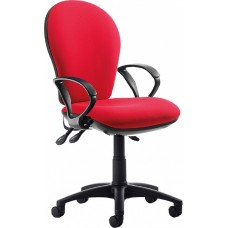 Urban High Back Operator Chair With Fixed Arms