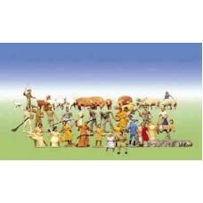 Set Of Farm Figures & Animals