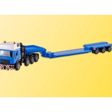 H0 Man 4 Axle Tractor Felbermayer With Scheuerle Platform