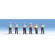 Traffic Policemen (blue Uniform)