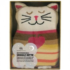 Luxury Knitted Cat Cosy Hot Water Bottle