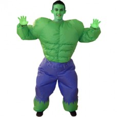 Incredible Hulk Inflatable Fancy Dress Costume