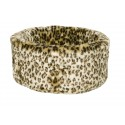Cats Cosy Bed, Small 42cm, Leopard